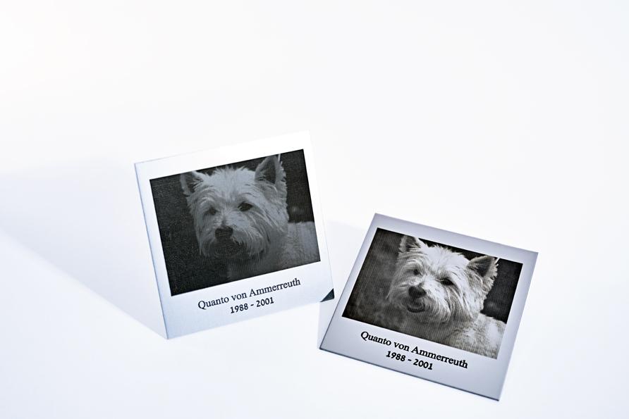 Fotogravur mit Laser